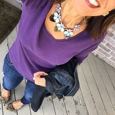 """"""" It's Tuesday Day 10 of my #February #SweetHeartWeekStyle #StyleChallenge:  And my #necklace has a hint of mint #ModModFabFebStyle and leopard…"""""""