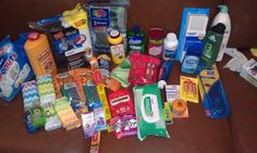 The hygiene package for my soldier! <3