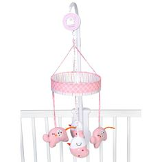 Red Kite Hello Ernest Cot Mobile (Pink) - Need