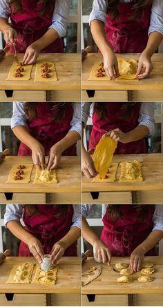 Cómo hacer raviolis o ravioles caseros paso a paso