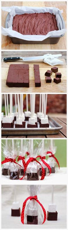 Hot Chocolate Blocks