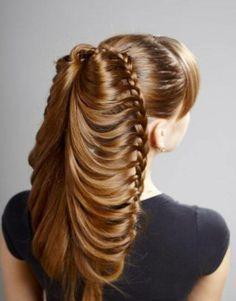 #trenza #cabello #largo
