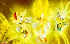 super sonic and super shadow and super silver - Google Search
