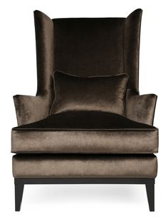 Regal and stylish, Blake is an innovative take on a popular classic. This high back wing chair maintains the perfect balance between traditional form and contemporary style. The foam-wrapped feather and down seat and accent cushion ensure a comfortable seating experience for both the modern and traditional interior.