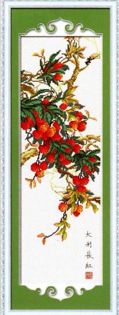 Gallery.ru / Foto # 8 - Berries-lichia (concluído) - Tatiananik