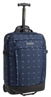 Multipath Carry-on Dressblue Basketikat Burton blau,weiss Trolly Nylons, Carry On, Suitcase, Blue, Hand Luggage, Carry On Luggage, Briefcase, Nylon Stockings