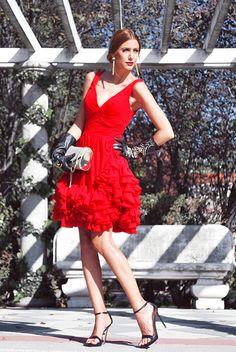 Lot Of Looks: MY ELEGANT RED DRESS