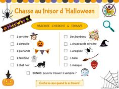Bricolage Halloween, Bonbon Halloween, Theme Halloween, Halloween 2020, Fall Halloween, Homemade Halloween Decorations, Halloween Crafts For Kids, Halloween Worksheets, Holiday Party Games