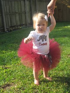 @ Beth Jones: This is the idea I had to go with the onesie you made! Alabama Tutu and Tshirt set