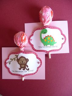 Cutest lollipop cards for valentines day.  Can't wait to make these with my Cricut.