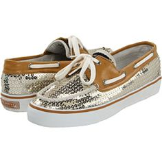 gold sequined sperrys