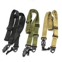 Wish | MS2 Tactics Mission Rifle Sling Double Point Rope Gun Strap CS Multifunction Lanyard Military Sling Strap
