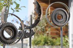 Esculturas realizadas por arq. Martinez Cynthia, con material de descarte