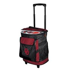 NCAA® University of Oklahoma Rolling Cooler