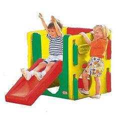 Activity Gym Slider Climbing Scrambling Hide Seek Indoor Outdoor Multi-colored #ActivityGym