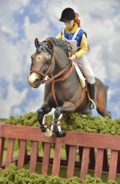 I love model horses! I like the idea that you could get a taste of participate in horse shows by showing your model horses when you don't have a real horse. I haven't shown any of my Breyer Horses yet - but I really, REALLY WANT TO!!!