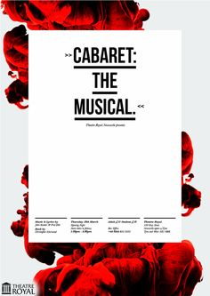 Power of past experience with objects creates relevance (Samuel McWilliams – Theatre Posters)