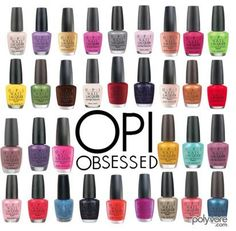 OPI, my one true love...as a nail tech, of course!