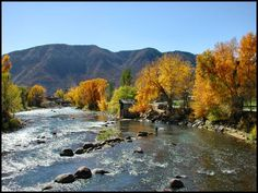 San Juan River in Durango, Colorado. I've been in the summer but want to see it in the fall