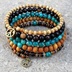 I like how it looks like 5 different bracelets.