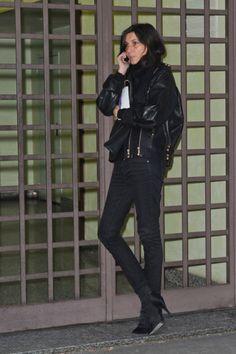 Milan Fashion Week 2012 - Emmanuelle Alt
