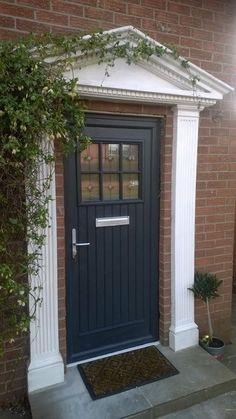 Palladio Dublin Door in Anthracite Grey | Doors and Gates ...