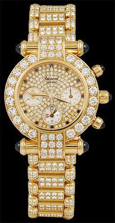 CHOPARD Imperiale Diamond and Sapphire Watch - Yafa Jewelry