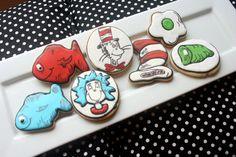 Dr Seuss Sugar Cookie Collection  1 DOZEN by misslizzycakes, $32.00