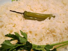 Wash rice in cold water, then soak 30 min for Mexican rice
