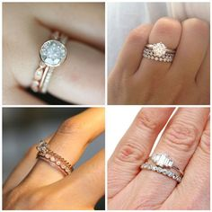Traditionally a Swedish bride will wear three bands, one for her engagement, one for marriage, and one for motherhood.