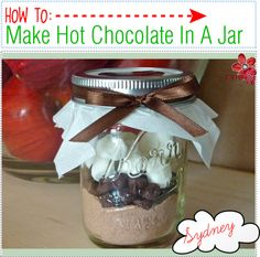 """How To Make Hot Chocolate In A Jar"" by tip-queens1 ❤ liked on Polyvore"