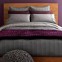 Gaiam has moved beyond yoga mats.  Loving the organic cotton bedding collection!