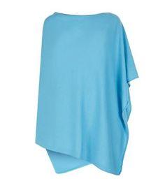 Harrods of London Asymmetric Cashmere Draped Top
