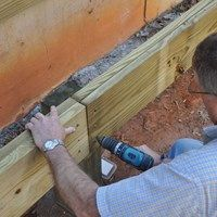 Learn how to size your deck beam using this easy to use span table. Just cross reference the post spacing and joist length to determine the beam size.