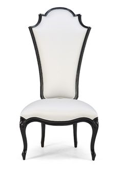 A stylish Crillon chair from a British designer Christopher Guy