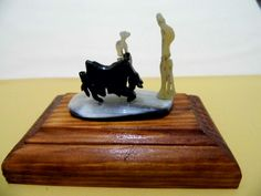 Picasso en cuerno de toro