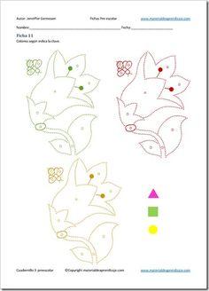Ficha 11 - 3 de grafomotricidad preescolar | Material De Aprendizaje