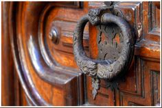 Title: Door Knocker  Location: Turin, Italy  Photograph: Jessica Spiegel