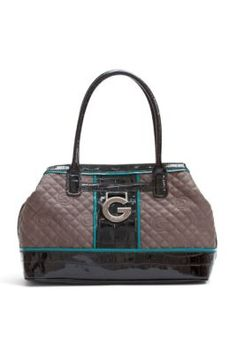 Beverlee Quilted Logo Tote ~ G by Guess $74.50