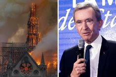 French Billionaires Have Pledged 300 Million Euros To Help Rebuild The Notre Dame Cathedral: Luxury goods magnate Bernard Arnault said he would donate 200 million euros the morning after retail mogul François-Henri Pinault pledged 100 million euros. Moet Chandon, We Will Rebuild, Feel Good News, Uplifting News, Good News Stories, Yahoo Answers, Buzzfeed News, Boredom Busters, Disney Memes