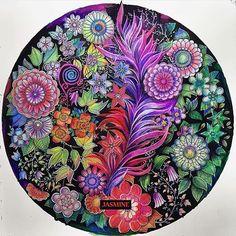 @coloring_secrets - Beautiful! By @omgjasmineomg  - Pikore