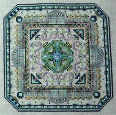 Mini Mandala Mystery 01 by Chatelaine - $93 for pattern plus kit