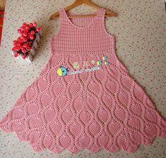 Vestidos Infantis | Gráficos e Receitas