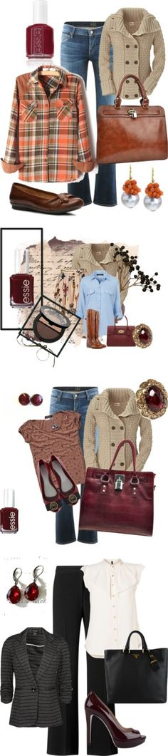 """Fall Attire"" by wyattsharley on Polyvore"