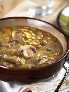 Healthy Italian Recipes, Veggie Recipes, Vegetarian Recipes, Chowder Recipes, Soup Recipes, Confort Food, Good Food, Yummy Food, Vegan Dishes