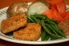 Tofu Chops. Whew. Finally a tofu dish that looks really tasty!  An amazing comfort food dish you are gonna love...this one has simple ingredients most people will already have in their pantry (just don't forget to buy the tofu!).