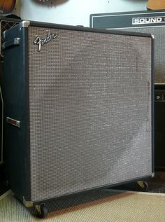 Fender / Bassman 2x15 Cab / 1974 / Amp