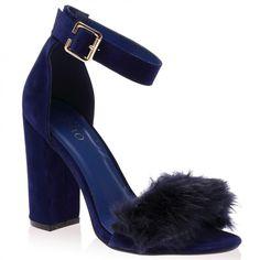 Celine Navy Suede Block Heels (2,040 MKD) ❤ liked on Polyvore featuring shoes, pumps, heels, suede platform pumps, high heel shoes, navy blue pumps, block heel shoes en heels & pumps