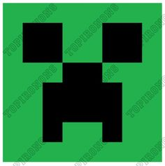 Creeper - Minecraft T Shirt Iron on Transfer Decal #6