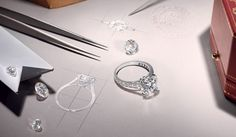 A diamond as unique as your love. Design the perfect ring with the Set For You Service by Cartier.